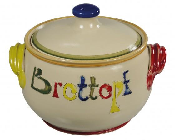 Brottopf - natur, bunt (Fasching)